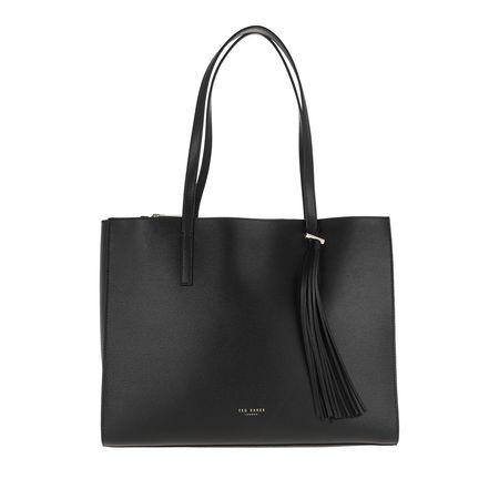 Ted Baker  Shopper  -  Narissa Tassel Large Tote Bag Black  - in schwarz  -  Shopper für Damen grau