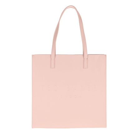 Ted Baker  Shopper - Soocon Crosshatch Large Icon Bag - in pink - für Damen braun