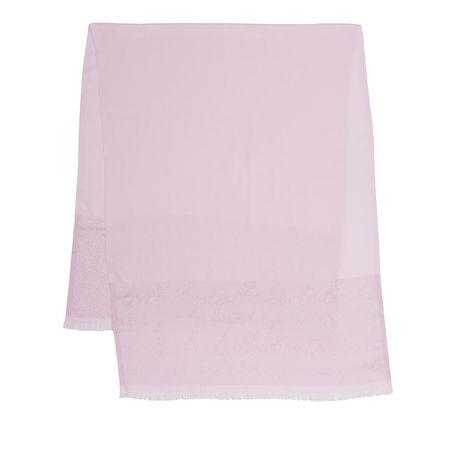 Ted Baker  Tücher & Schals - Monogram Lurex Long Scarf - in pink - für Damen braun