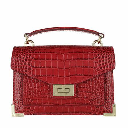 The Kooples  Crossbody Bags - Small Bag Emily Croco - in rot - für Damen