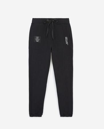 The Kooples  - schwarze jogginghose mit zugband aus baumwolle - bla - Damen weiss
