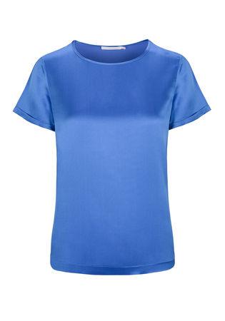 THE MERCER Basic Shirt blau