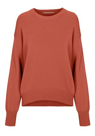 THE MERCER Cashmere-Pullover rot