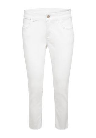 THE MERCER Cropped Jeans grau