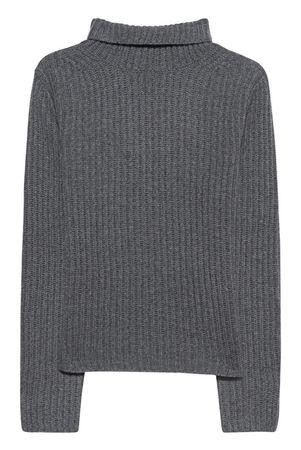 THE MERCER  N.Y. Turtleneck Cashmere Grey Damen Grau grau