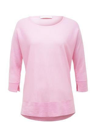 THE MERCER Pullover aus Merinowolle rosa