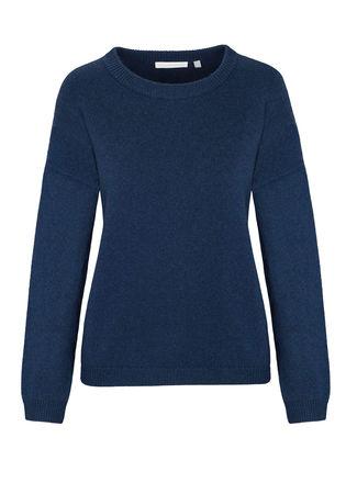 THE MERCER Pullover mit überschnittenen Schultern grau