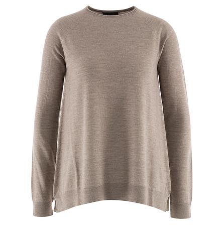 The Row  - Pullover Heba aus Wolle und Cashmere braun