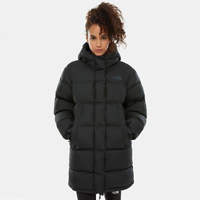 TheNorthFace The North Face Damen Premium City Daunenjacke Tnf Black Größe L Women grau