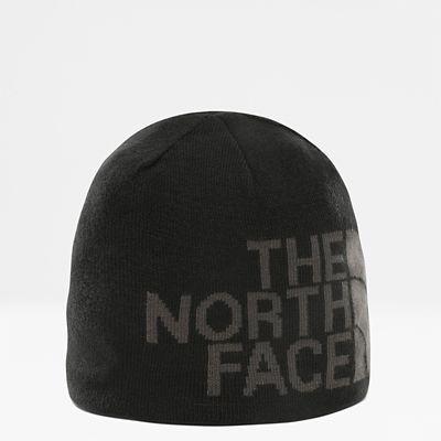 TheNorthFace The North Face Reversible Banner Mütze Tnf Blackasphalt Grey Logo Xl Größe Einheitsgröße Damen schwarz