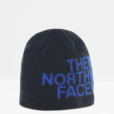 TheNorthFace The North Face Reversible Banner Mütze Urban Navytnf Blue Logo Xl Größe Einheitsgröße Damen grau
