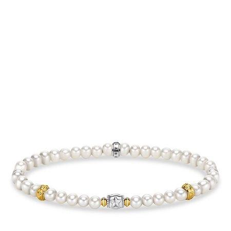 Thomas Sabo  Armband - Bracelet - in weiß - für Damen