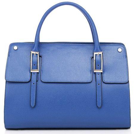 Thompson Luxury Bags Tote Bag Olivia Blau blau