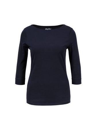 Thylie  - Baumwoll-Shirt 'Bridget' Dunkelblau