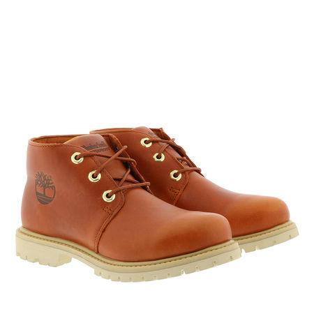 Timberland  Boots  -  Paninara Chukka Waterproof Boot Burnt Orange  - in cognac  -  Boots für Damen rot