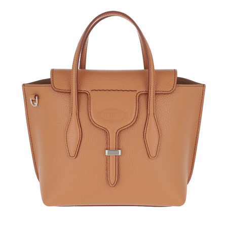 Tod's  Tote  -  Joy Bag Mini Leather Camel  - in braun  -  Tote für Damen orange