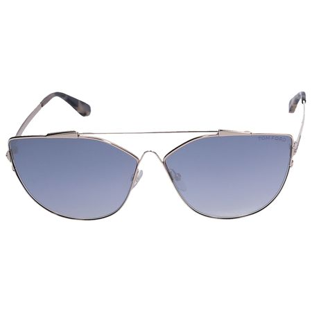 Tom Ford  Sonnenbrille Cat-Eye 563 28C Metall gold grau