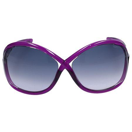 Tom Ford Sonnenbrille Oversize 9  75B Acetat lila grau