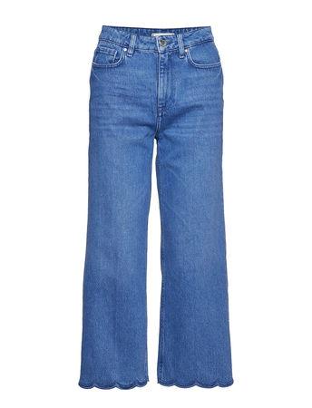 Tommy Hilfiger Gramercy Wide Leg Hw C Bianca Jeans Mit Weitem Bein Loose Fit Blau  blau