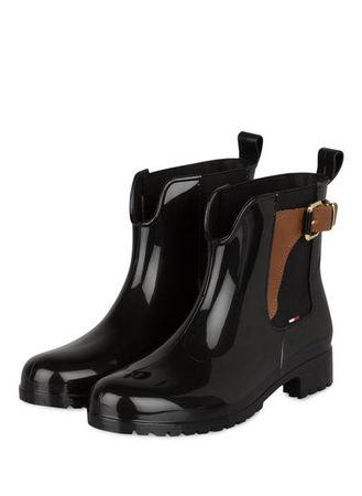Tommy Hilfiger  Gummi-Boots Oxley schwarz schwarz
