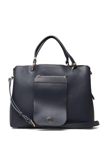 Tommy Hilfiger My Tommy Satchel Bags Top Handle Bags Blau  grau