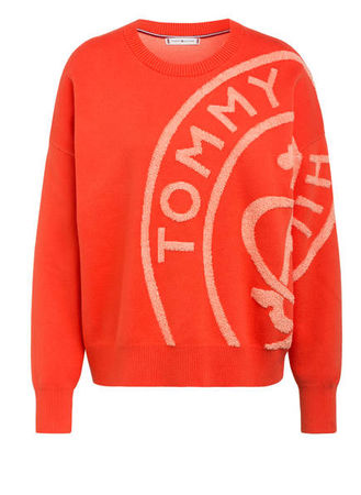 Tommy Hilfiger  Pullover Bobbee orange rot