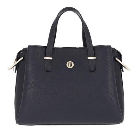 Tommy Hilfiger  Satchel Bag  -  TH Core Satchel Corporate  - in blau  -  Satchel Bag für Damen grau