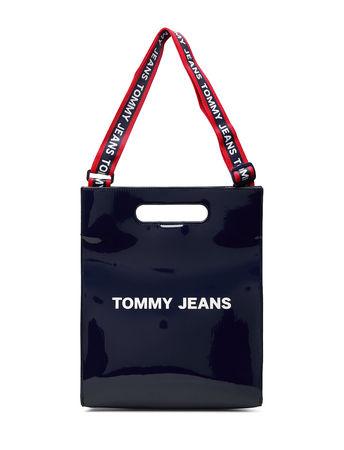 Tommy Hilfiger Tjw Item Tote Pu Bags Top Handle Bags Blau  schwarz