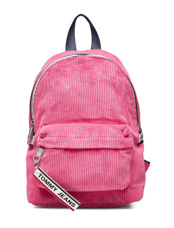 Tommy Hilfiger Tjw Logo Tape Mi Bac Bags Backpacks Casual Backpacks Pink  pink
