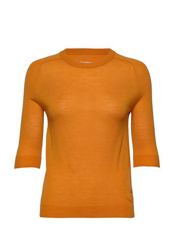 Day Birger et Mikkelsen Day Whitney T-Shirts & Tops Knitted T-Hemd/tops Orange  orange