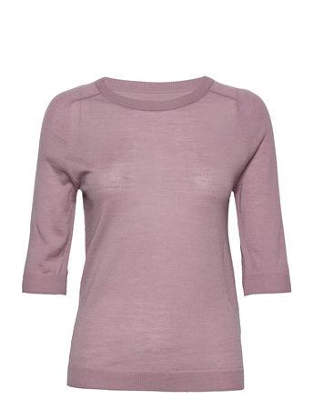 Day Birger et Mikkelsen Day Whitney T-Shirts & Tops Knitted T-Hemd/tops Pink