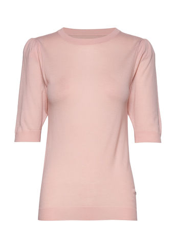 Day Birger et Mikkelsen Day Whitney T-Shirts & Tops Knitted T-Hemd/tops Pink  braun