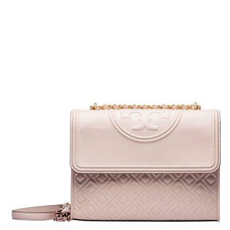 Tory Burch ® - Handtasche aus Leder in Rosa für Damen, Größe UNI braun