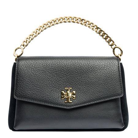 Tory Burch ® - Handtasche aus Leder in Schwarz für Damen, Größe UNI grau