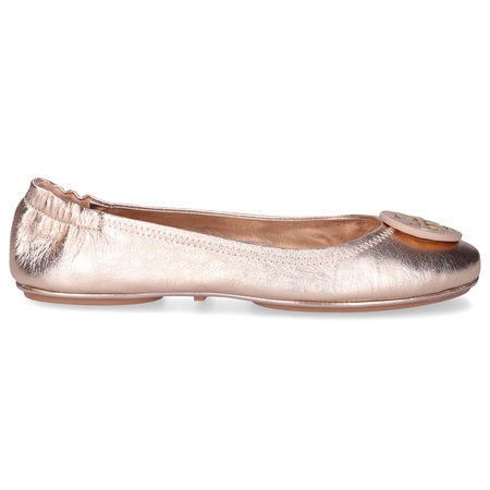 Tory Burch Ballerinas MINNIE Ziegenleder beige