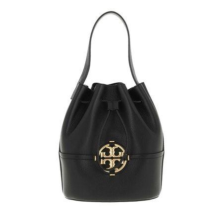 Tory Burch  Beuteltasche - Miller Bucket Bag - in black - für Damen