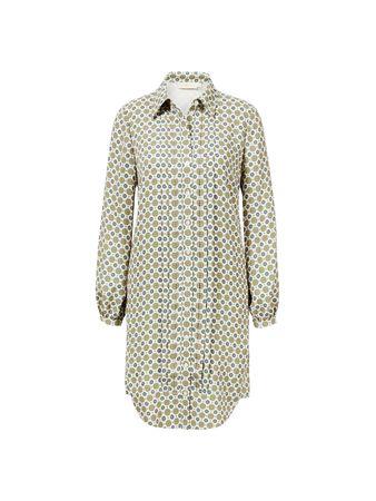 Tory Burch  - Blusenkleid mit Medaillon-Print Multi braun