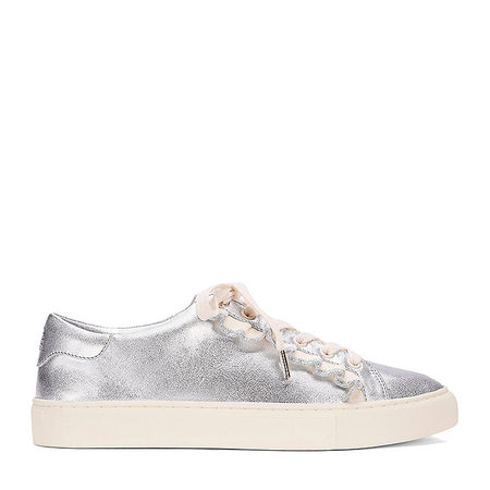 Tory Burch Damen Sneaker Silber beige