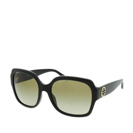 Tory Burch  Sonnenbrille  -  Woman Sunglasses Acetate Black  - in schwarz  -  Sonnenbrille für Damen braun