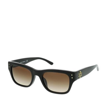Tory Burch  Sonnenbrille  -  Woman Sunglasses Acetate Black  - in schwarz  -  Sonnenbrille für Damen schwarz