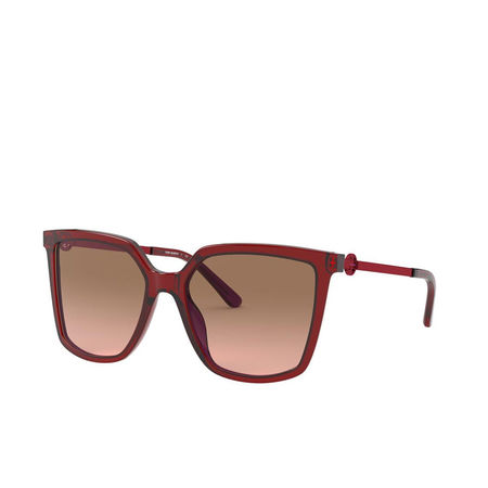 Tory Burch  Sonnenbrille  -  Woman Sunglasses Acetate Transparent Red  - in rot  -  Sonnenbrille für Damen braun