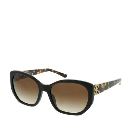 Tory Burch  Sonnenbrille  -  Woman Sunglasses Metal Black  - in braun  -  Sonnenbrille für Damen braun