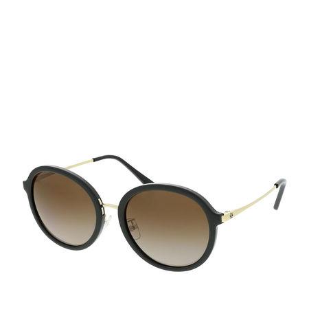 Tory Burch  Sonnenbrille  -  Woman Sunglasses Metal Black  - in schwarz  -  Sonnenbrille für Damen braun