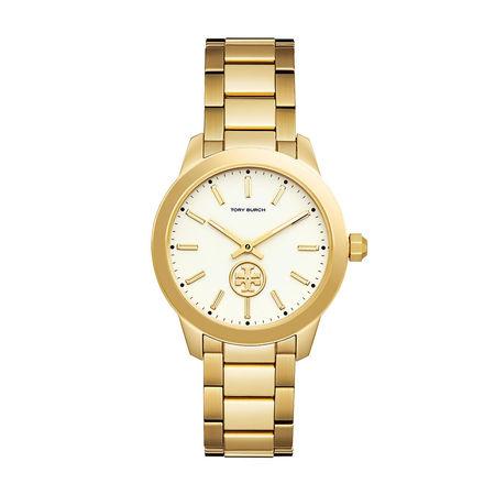 Tory Burch  Uhr  -  The Collins Watch Gold  - in gold  -  Uhr für Damen orange