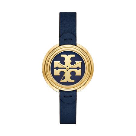 Tory Burch  Uhr  -  The Miller Watch Stainless Steel Blue  - in blau  -  Uhr für Damen grau