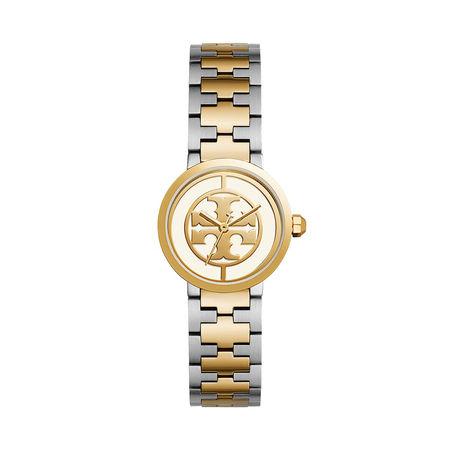 Tory Burch  Uhr  -  The Reva Watch Stainless Steel Gold Silber  - in gold  -  Uhr für Damen orange
