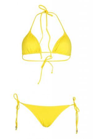 Triya Argola Padded Triangel Bikini gelb