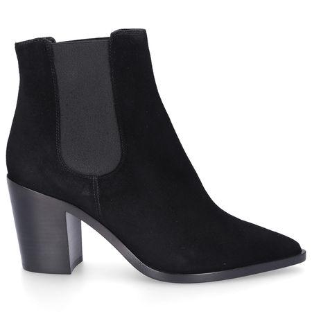 Truman's Chelsea Boots 9052 Veloursleder schwarz schwarz