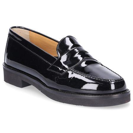 Truman's  Loafer 5640 Lackleder sand schwarz schwarz