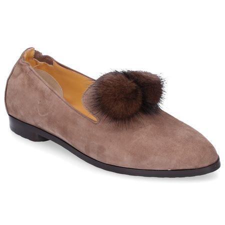 Truman's Loafer 8858 Veloursleder Bommel braun braun